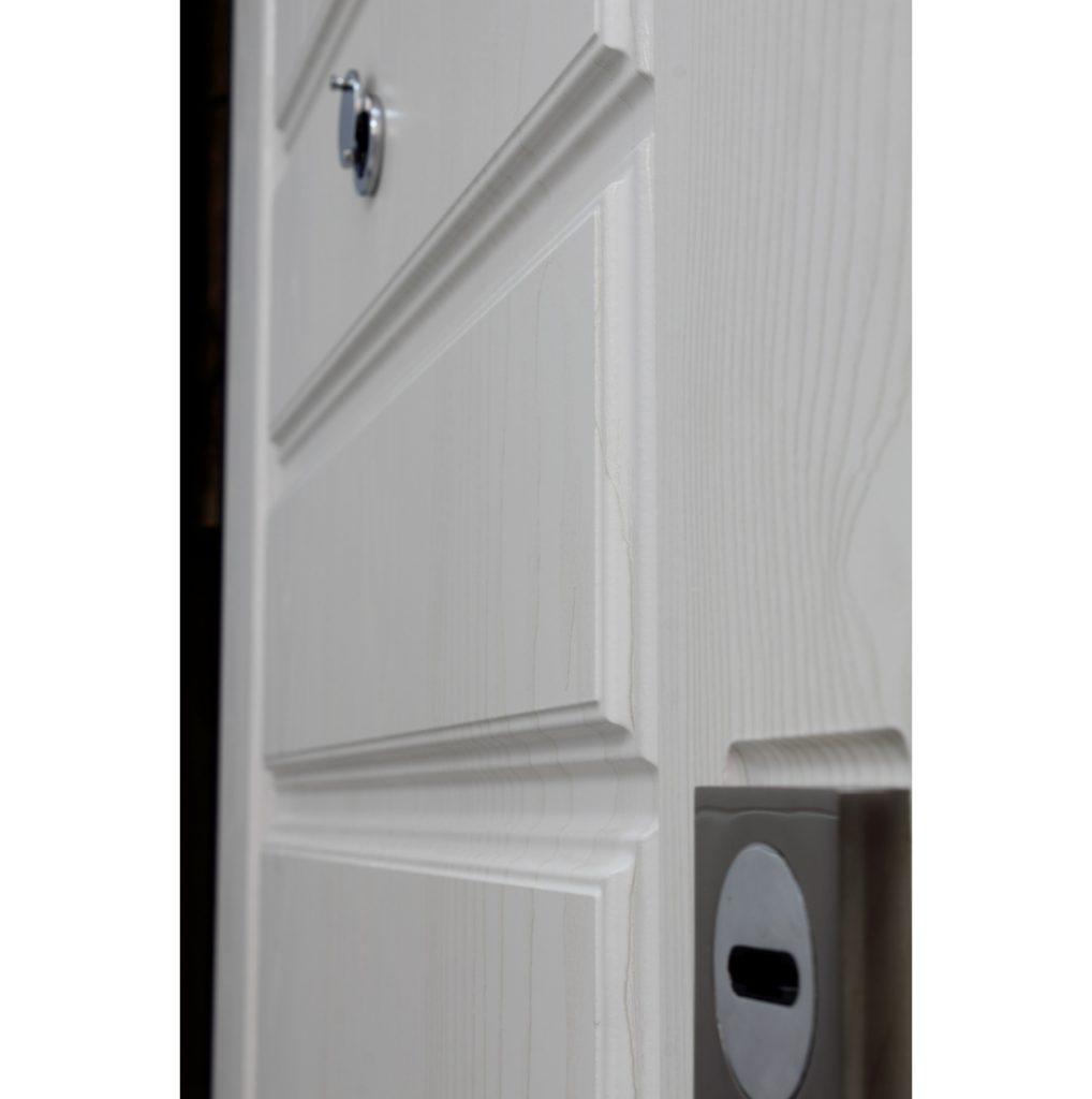 Входная Дверь металлическая Горизонталь ДУБ БЕЛЕННЫЙ
