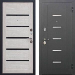 Входная дверь металлическая 7,5 Гарда МУАР Царга Лиственница мокко