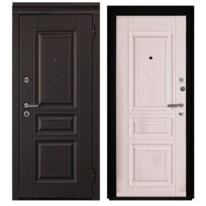 Входная Дверь металлическая МОККО ЯСЕНЬ КРЕМОВЫЙ SECUREMME
