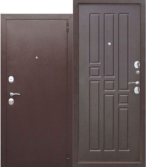 Входная дверь металлическая Гарда 8 мм ВЕНГЕ