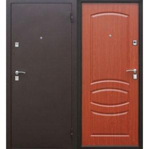купить Входная дверь металлическая Стройгост 7-2 Итальянский орех