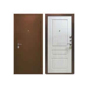 Входная дверь металлическая ЭТАЛОН Сосна прованс