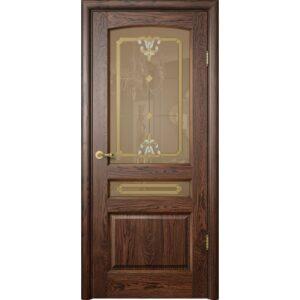 Дверь межкомнатная Неаполь К009 ПО дуб (НОВАТОР)