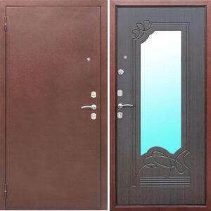 Входная дверь металлическая АМПИР Венге