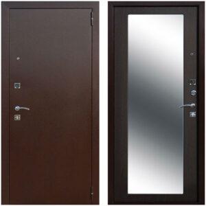 Входная дверь металлическая Царское зеркало MAXI Венге