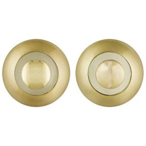 Ручка поворотная Punto (Пунто) BK6 TL SG/GP-4 матовое золото/золото