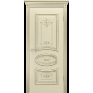 Дверь межкомнатная АРИЯ R B3 Эмаль Слоновая кость