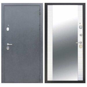Входная дверь металлическая Фараон зеркало Платина