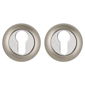 Накладка под цилиндр Punto (Пунто) ET TL SN/CP-3 (матовый никель/хром)